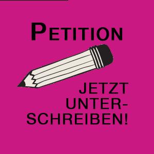 Petition jetzt unterschreiben