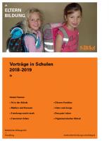 Vorträge an Schulen 2018/19